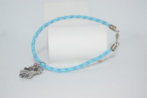 Jeep Charm Rope Style Bracelet