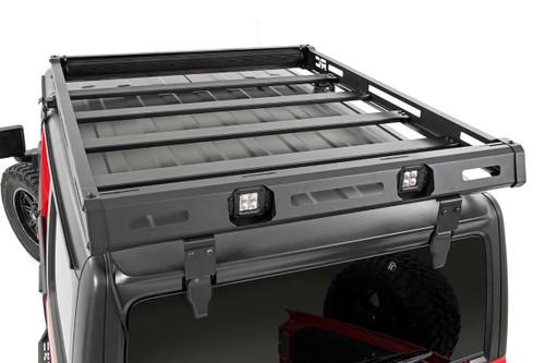 Jeep Roof Rack System w/ Black-Series LED Lights (18-20 JL)