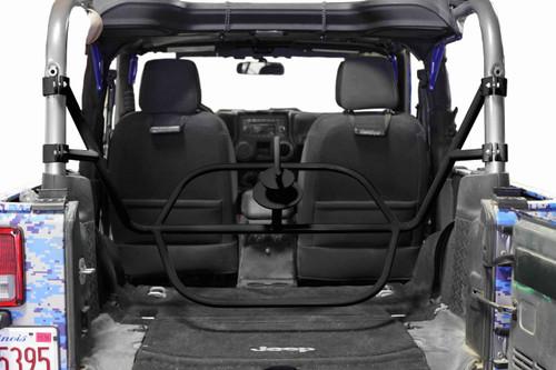 Steinjäger Tire Carrier Wrangler JK 2007-2018 2 Door Internal Black