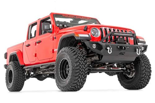 Jeep Quad LED Light Pod Kit - Black Series w/ White DRL (18-20 JL / 2020 Gladiator)