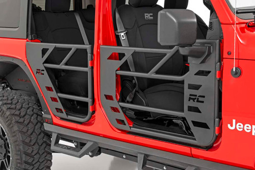 Jeep Steel Tube Doors | Front (18-20 JL/ 2020 Gladiator)