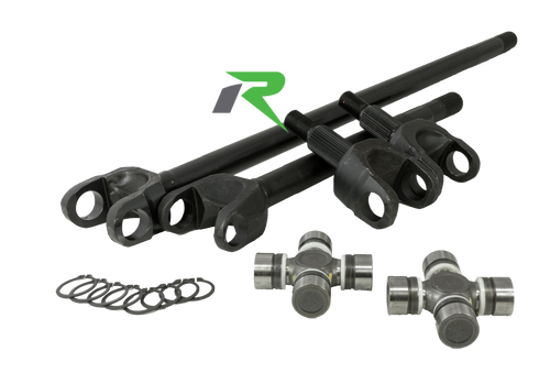 Discovery Series 4340 Chromoly Front Axle Kit for 03-06 TJ and LJ Rubicon Revolution Gear