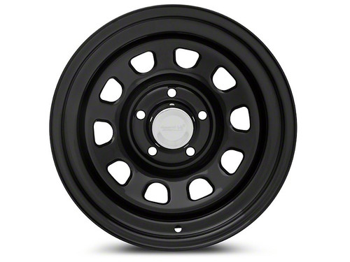 Black D Window Wheel, 15 in X 8 ines, 5 x 4.5 in bolt pattern