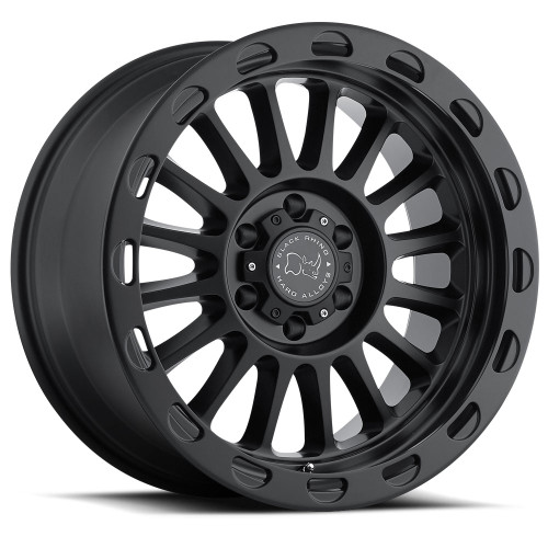 17x9 Black Rhino Taupo 8x170 Et-12 Matte Machine Face Wheel