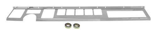 Stainless Steel Dash Overlay for 1987-1995 Jeep YJ Wrangler