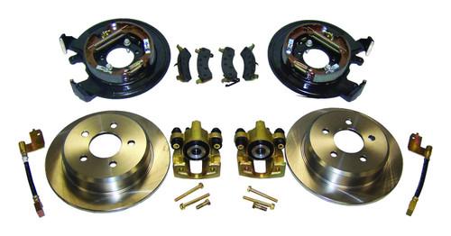 Disc Brake Conversion Kit for 91-06 Jeep TJ, YJ, ZJ, XJ w/ D35 Rear Axle w/o ABS