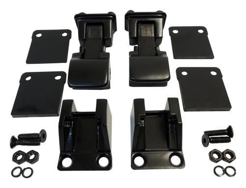 Hood Catch Kit for 1955-1986 Jeep CJ-5, CJ-6, CJ-7, CJ-8, 1987-1995 YJ Wrangler