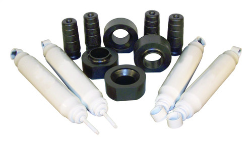 """1.75"""" Lift Master Kit for Jeep 97-06 TJ Wrangler; Incl Poly Spacers & HD Shocks"""