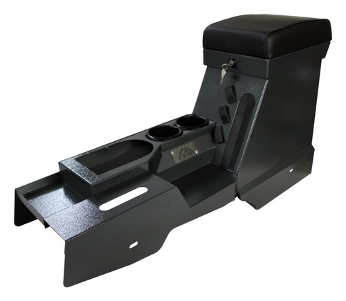 Steel Locking Center Console for 2007-2010 Jeep JK Wrangler w/ Automatic Trans.