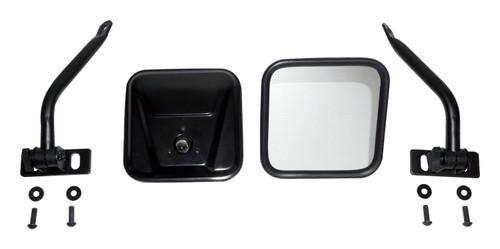 Quick Release Mirror Set for 76-18 Jeep CJ-7, CJ-7, YJ, TJ, JK Wranglers