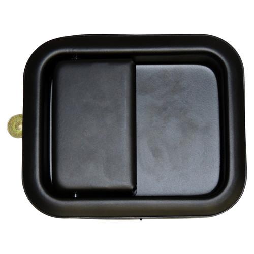 Black Exterior Door Handle for 81-06 Jeep CJs, YJ, TJ w/ Full Steel Doors