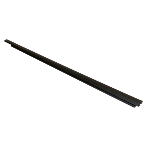 Left Front  Door Glass Weatherstrip for 2007-2017 Jeep MK Compass (Outer); Black