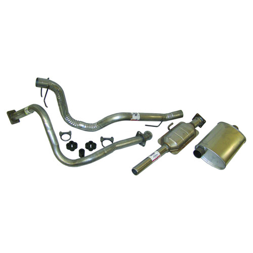 9-Piece Exhaust Kit for Select 1987-1990 YJ Wrangler w/ 4.2L Engine