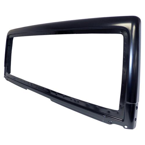 Black Windshield for 2007-2018 Jeep JK Wrangler; Paintable