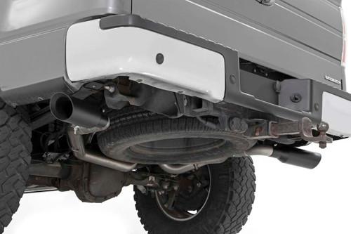 Dual Cat-Back Exhaust System w/ Black Tips (09-14 F-150 | V8 - 4.6L, 5.0L, 5.4L)