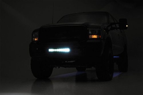 Ford 20in LED Bumper Kit | Black Series w/ White DRL (05-07 F-250/350)