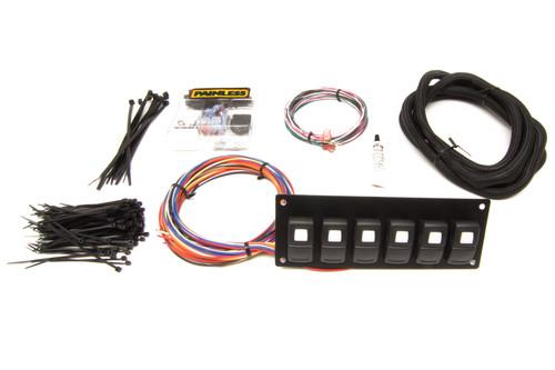 Track Rocker 6 Switch - Customizable Panel Dash Mount