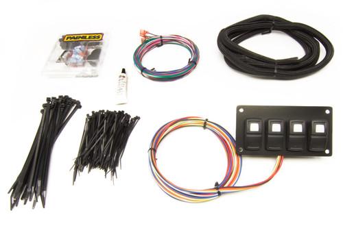 Track Rocker 4 Switch - Customizable Panel Dash Mount