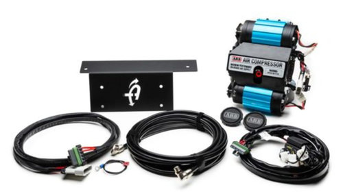 Jeep JK/JL Air Compressor Bracket And Hardware For JK And JL Cargo Area for ARB Dual Air Air Compressor Black UP Down Air