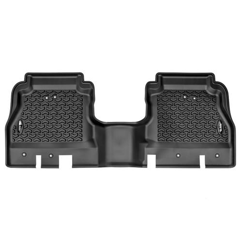 Floor Liner, Rear, Black, 2020 Jeep Gladiator JT