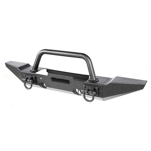 XHD Bumper Kit, Front, Overrider/ Standard; 07-18 Jeep Wrangler JK