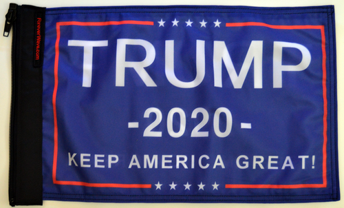 Donald Trump 2020 Keep America Great Flag Forever Wave