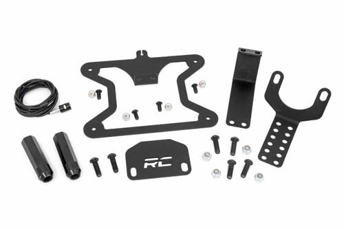 Jeep License Plate Adapter (07-18 Wrangler JK / JK Unlimited)