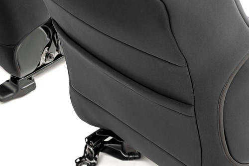 Toyota Neoprene Front & Rear Seat Covers (16-20 Tacoma)