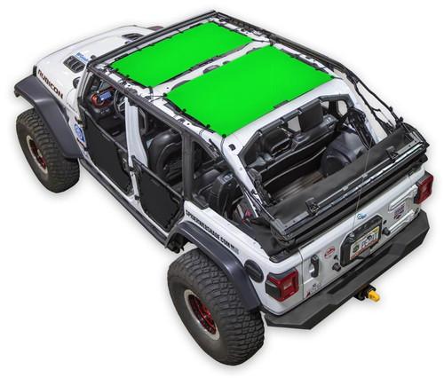 SpiderWeb Shade Jeep JL4D 2 PIECE FRONT & REAR