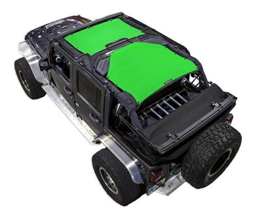 SpiderWeb Shade Jeep JK4D 2 PIECE FRONT & REAR