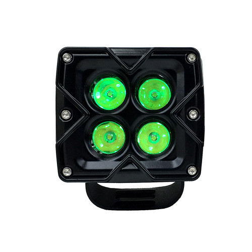 3 inch 20w Spot Reflector Work Light with RGB Accent - Single Quake LED