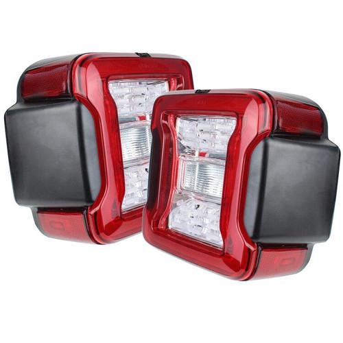 Jeep Wrangler JL Redout LED Tail Lights Quake LED