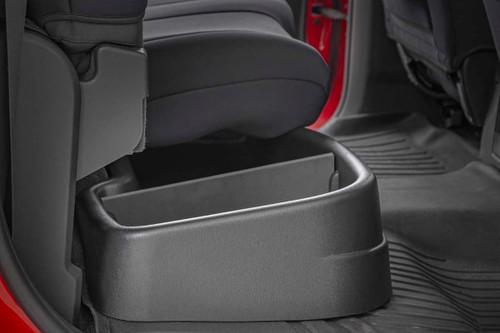 GM Custom-Fit Under Seat Storage Compartment (14-18 1500 / 15-19 2500HD/3500HD)