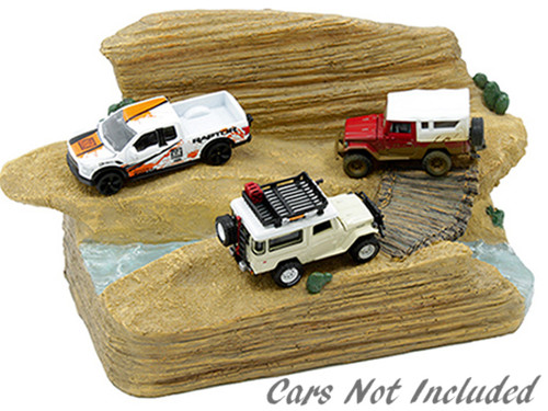 American Diorama 1:64 MiJo Exclusives - Trail Challenge Diorama
