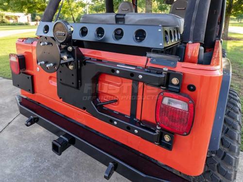 Rusty's Tire Carrier - 1997-2006 TJ / LJ Wrangler