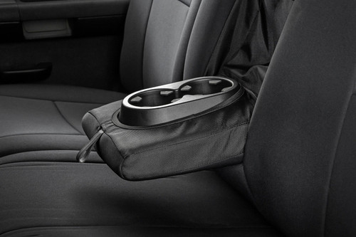 GM Neoprene Front and Rear Seat Covers  Black (07-13 1500   11-13 2500)