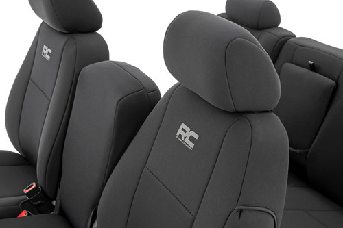 GM Neoprene Front Seat Covers  Black (07-13 1500   11-13 2500)