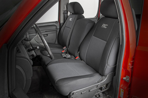 GM Neoprene Front Seat Covers| Black (07-13 1500 | 11-13 2500)