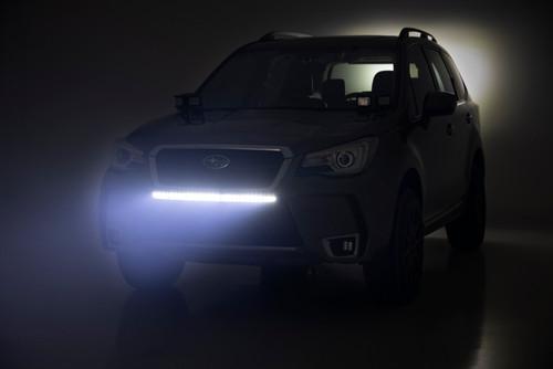 Subaru 30in LED Bumper Kit (14-18 Forester   Black Series)