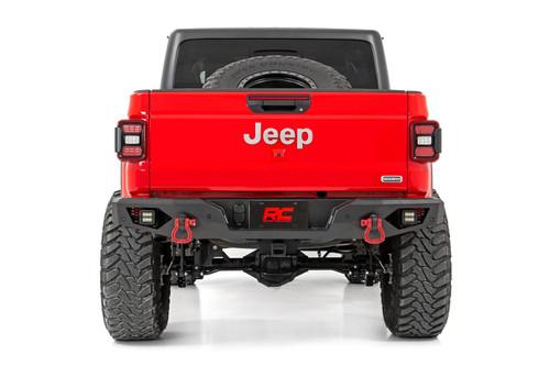 Jeep Heavy-Duty Rear LED Bumper (2020 Gladiator)
