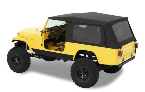 Supertop Classic - '81-85 Scrambler CJ8 (Black Denim; Tinted Windows)