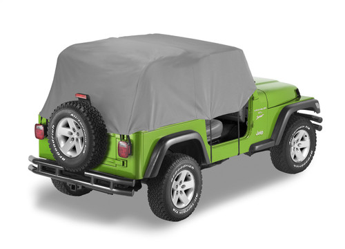 All Weather Trail Cover - '76-86 CJ7 / '87-91 Wrangler YJ (Charcoal / Gray)