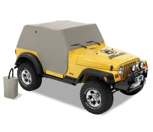 All Weather Trail Cover - '97-06 Wrangler TJ Exc. Unlimited (Charcoal / Gray)