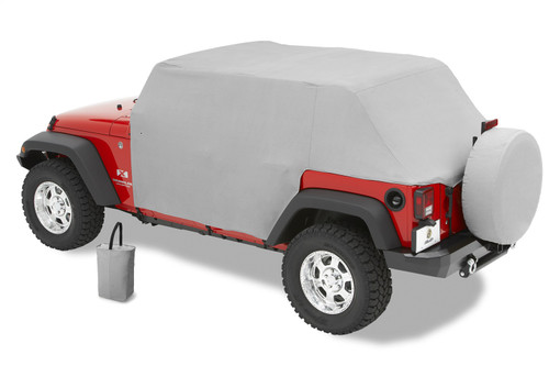 All Weather Trail Cover - '07-18 Wrangler JK 2-Door (Charcoal / Gray)