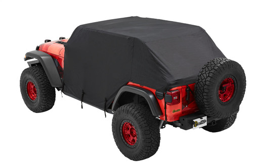 All Weather Trail Cover - '07-18 Wrangler JK/'18-21 JL 4-Door (Black)