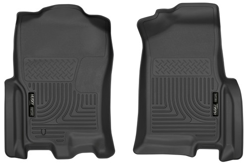 Expedition Front Floor Liners 07-10 Ford Expedition, 07-10 Lincoln Navigator Black Husky Liners