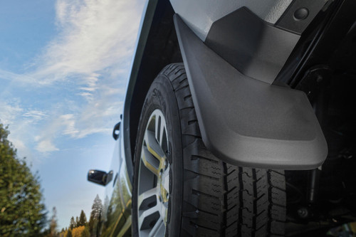 15-18 Ford F-150 Vehicle Has OE Fender Flares Front And Rear Mud Guards Black Husky Liners