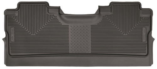 15-18 Ford F-150 SuperCrew Cab Pickup 2nd Seat Floor Liner Footwell Coverage Cocoa Husky Liners