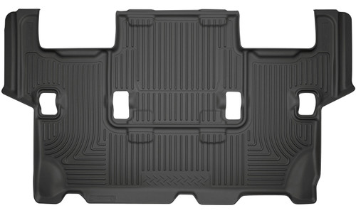 07-10 Ford Expedition 08-17 Lincoln Navigator 3rd Seat Floor Liner Black Husky Liners