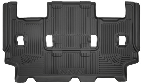 07-17 Ford Expedition 08-15 Lincoln Navigator 3rd Seat Floor Liner Black Husky Liners